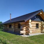 Naturstammhaus Ferienhaus Usedom Log Cabins - Feriendorf Tollensesee Gross Nemerow
