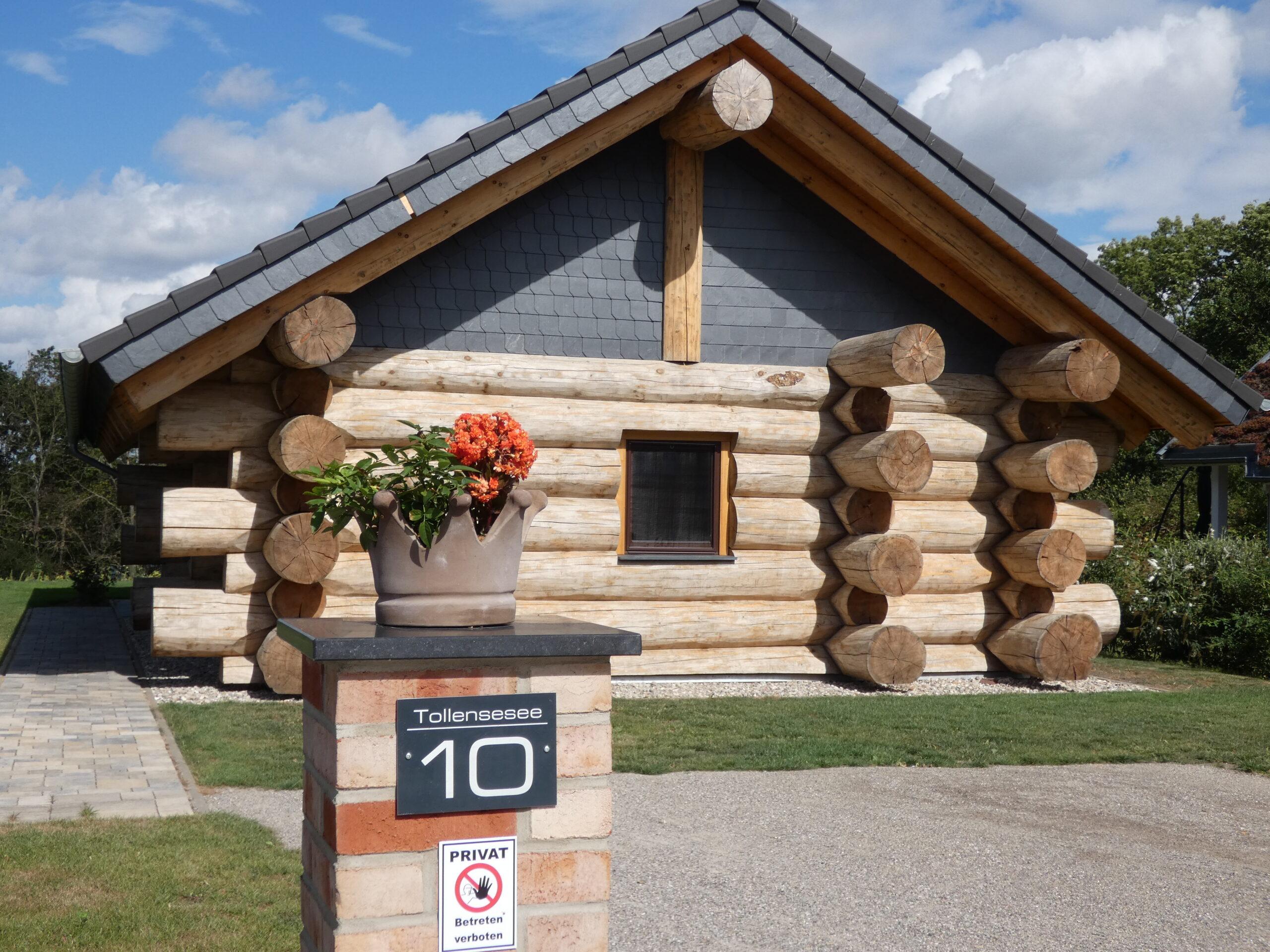 Naturstammhaus Tollensesee 10